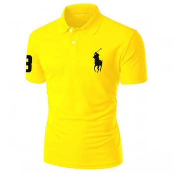 Men's polo shirt yellow