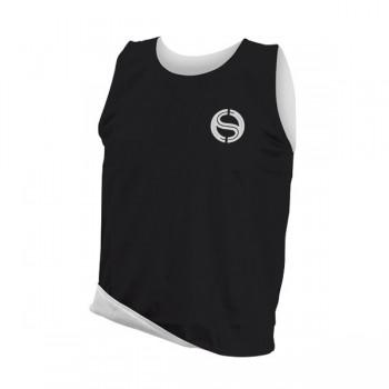 Reversible Training Vest - Senior - Black/White