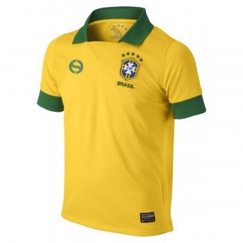 Brasil Youth Home 2013 Replica Soccer Jersey