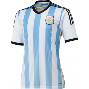 Lionel Messi Argentina FIFA World Cup Home Shirt 2014