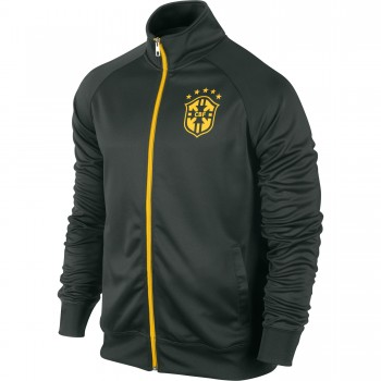 Brazil 2014 FIFA World Cup Trainer Jacket (Black)