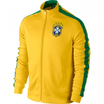 Brazil 2014 FIFA World Cup N98 Soccer Jacket