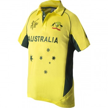 Cricket Australia 2015  Official World Cup Shirt