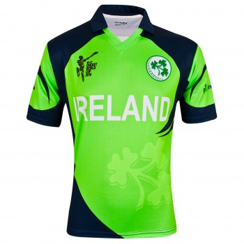 Ireland Cricket World Cup Adult's Jersey Green