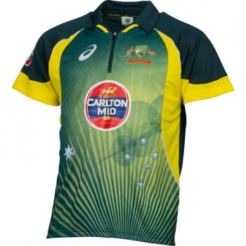 CRICKET AUSTRALIA 2014/15 MEN'S ODI HOME SHIRT