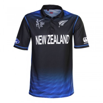 BLACKCAPS CWC ODI REPLICA SHIRT 2015