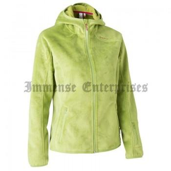Hood Green - Women's Hiking Fleece