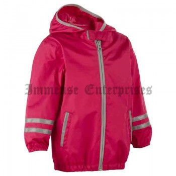 Raincut Baby Zip Jacket pink