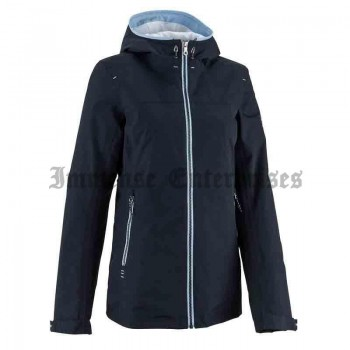 Raincoastal warm dark blue jacket