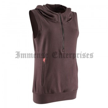 Fitness sleeveless jacket