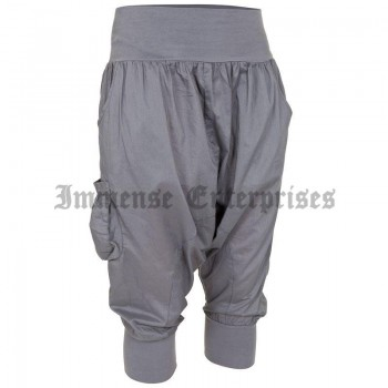 Baggy grey CB cropped trousers