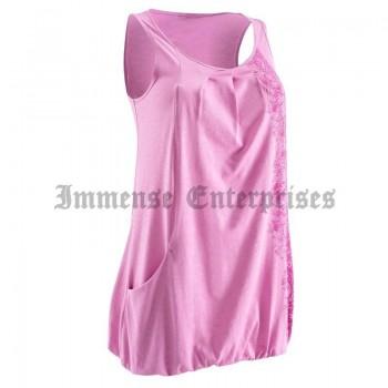Women's tank tops pink