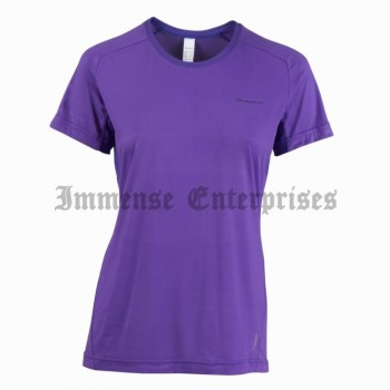 TechFresh Women's Hiking T-Shirt, Purple