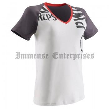 V-neck Fitness T-shirt