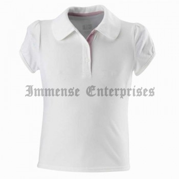 100W girl polo shirt