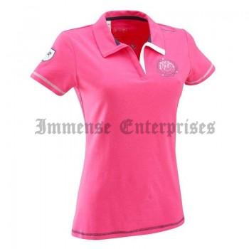Fuchsia Pink Polo