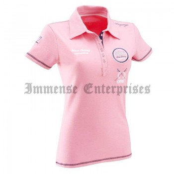 Candy pink HRC SS Polo
