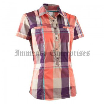 Arpenaz 400 shirt orange