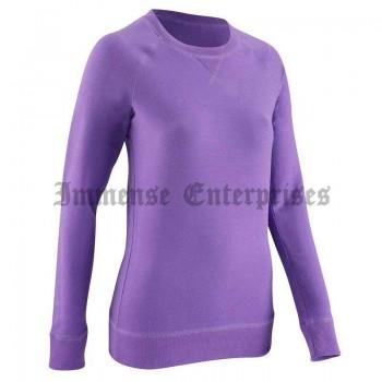 Round-neck sweatshirts