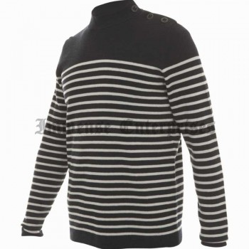 Dark blue striped 500 M jumper