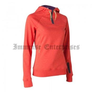 Hood Top Red - Women's Hiking Sweatshirt
