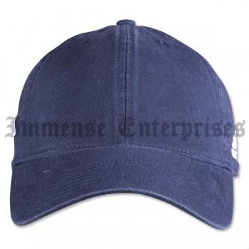 Adjustable Washed Cap (Navy)