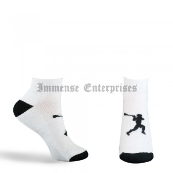 Lacrosse Shooter Ankle Socks