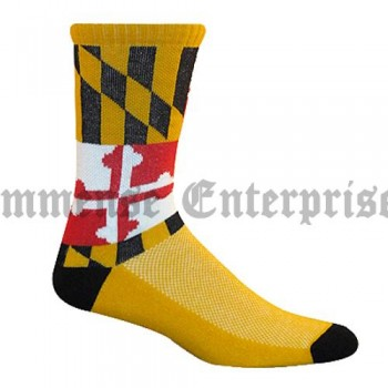 Custom Socks Double Block Crew