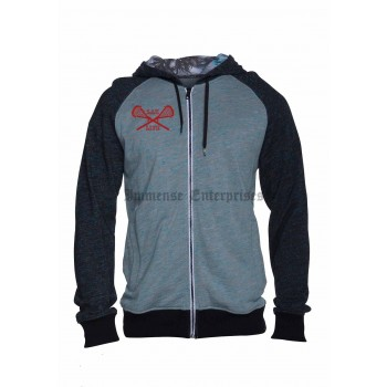 Flammo Slide Zip Up  lacrosse Sweatshirt