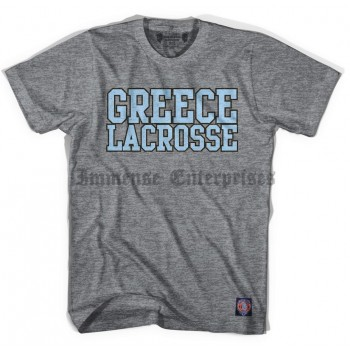 Greece Vintage Lacrosse T-Shirt