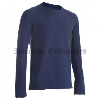 Relaxation sweatshirt Navy-blue