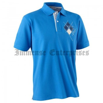 DRY polo shirt M 18 blue