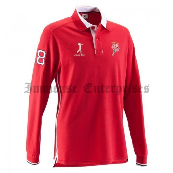 ENGLISH POLO SHIRT RED