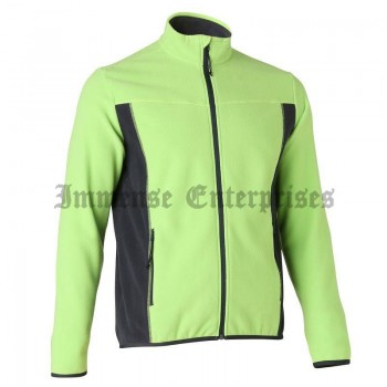 Men's Hiking Fleece Lemon green