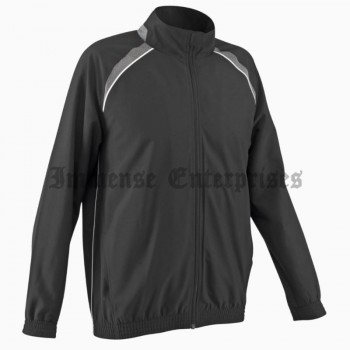 Breathable canvas men's tracksuit jacket
