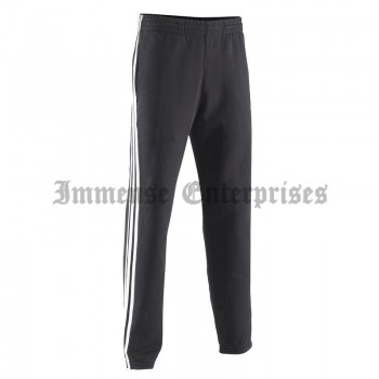 Cotton 3 Stripe Men's Gym Trousers