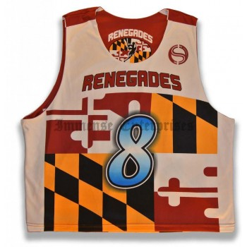 Sublimation Lacrosse Reversible pinnies