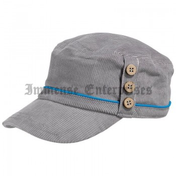 Winter Lady Cap Grey