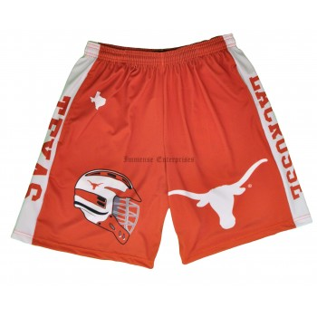Texas College Sublimated Shorts With Pockets