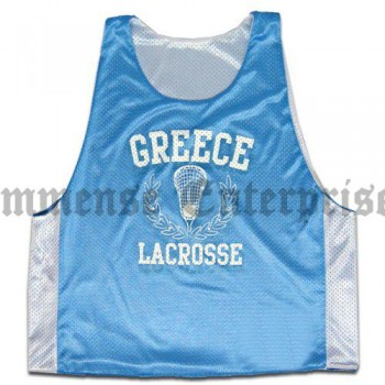 Greece Lacrosse Reversible Lax Pinnie